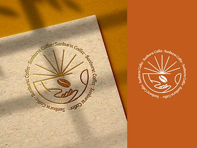 Coffee branding - Sunburst Coffee - ☕️ coffeeshop concept expresso drink barista bean minimal branding coffee logo