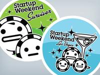 Startup Weekend Stickers