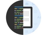 Code to Interface Design illustration