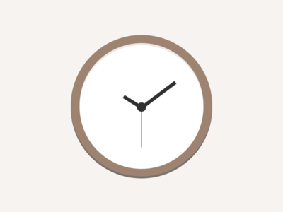 Clock Illustration liberio clock illustration time simple