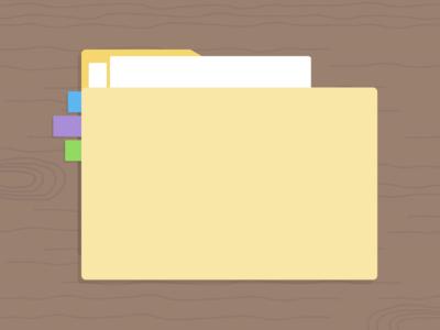 Categories And Keywords liberio illustration organization update flat simple folder
