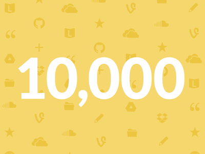 10,000 Amazing People <3 liberio users illustration pictos