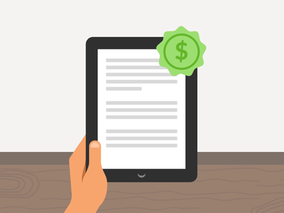 Introducing eBooks to go liberio users illustration feature badge flat simple