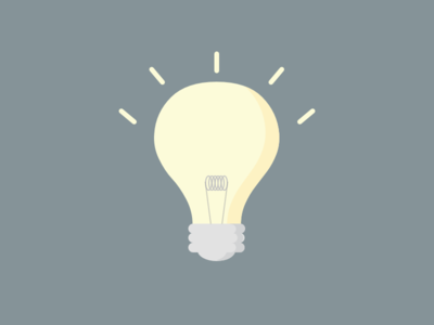 Share your ideas for 2015! liberio simple illustration competition lightbulb new year 2015