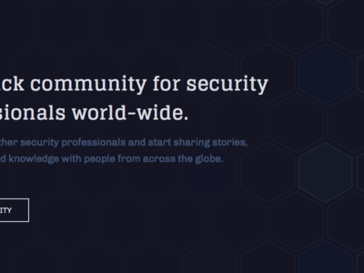 Security HQ artificial intelligence landing page website honeycomb security