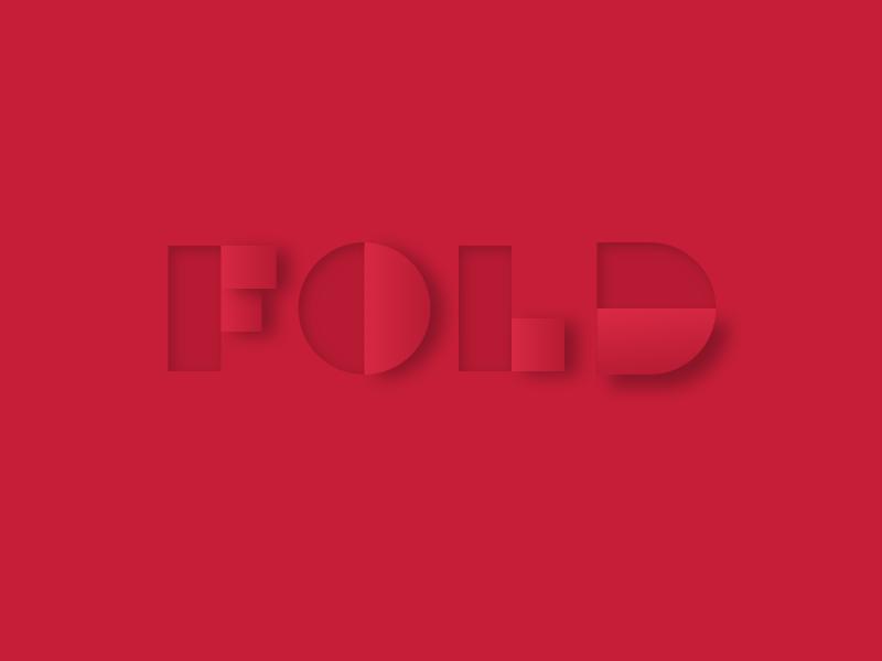 Fold typelogo
