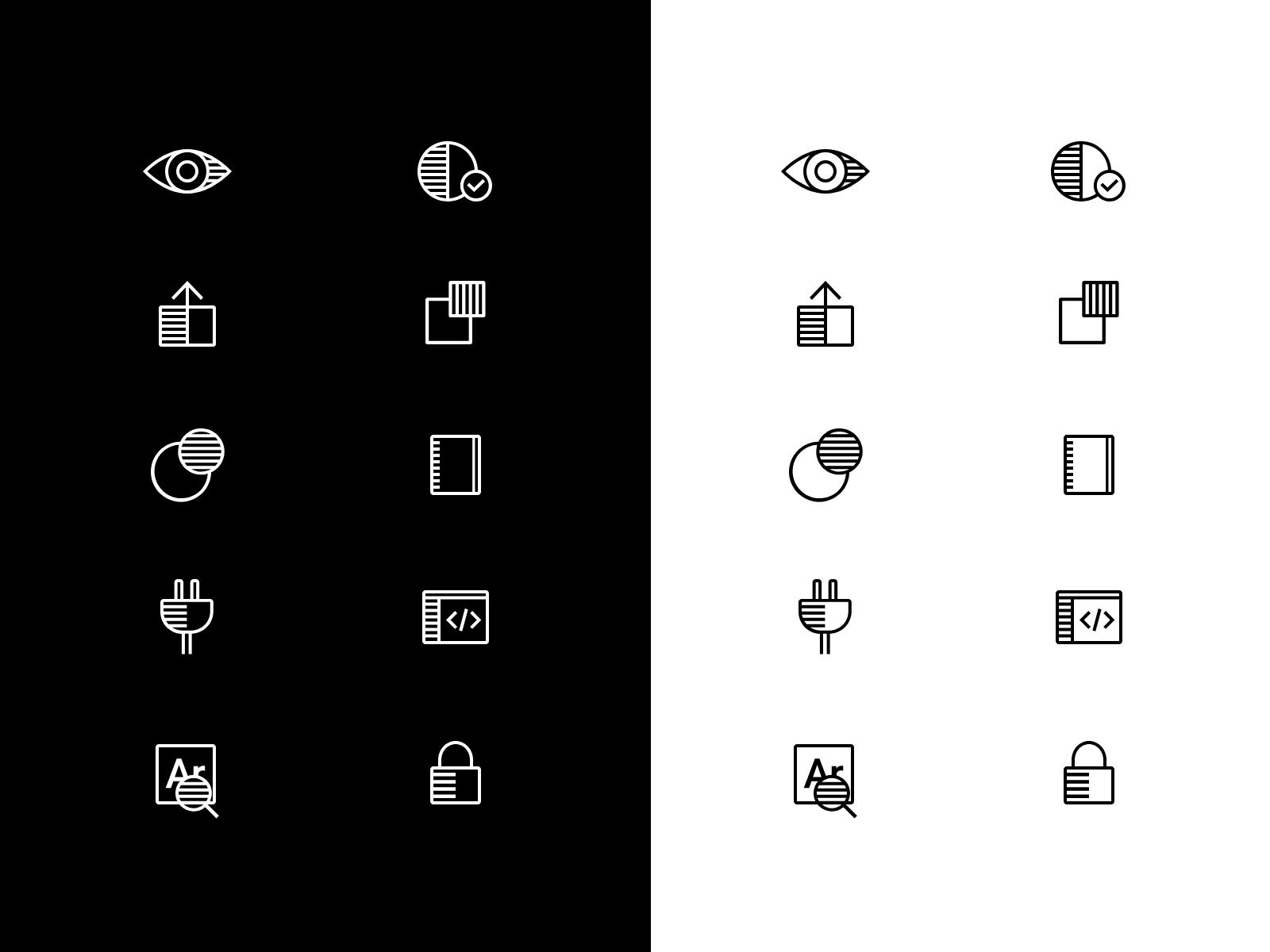 Iconography 2x