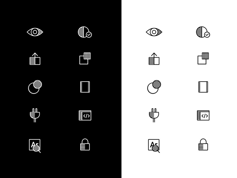Stark Iconography stark illustrator icons glyphs iconography