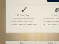 Therapist Website Mockup