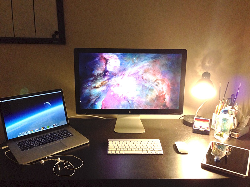 Workspace 2013 office home workstation workspace space universe ios mac ipad apple