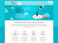 Web design for Big Bark Creative
