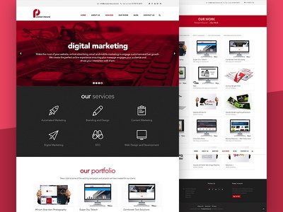 Protean Marketing design branding user experience web design colour theory ui design ux design