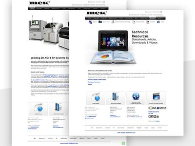 Mek Electronics design branding user experience web design colour theory ui design ux design