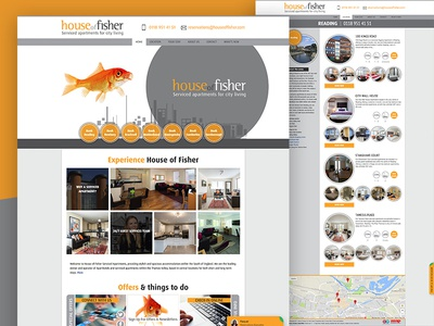 House of Fisher design branding user experience web design colour theory ui design ux design