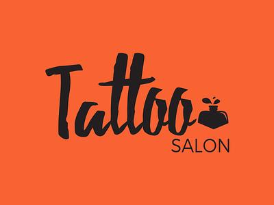 Tattoo salon logo vector art illustration icon design illustrator campaign branding colour theory logo design