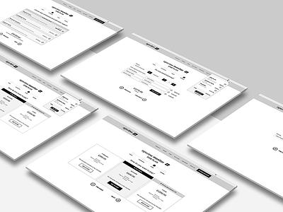 UX Design for ecommerce prototype wireframes ecommerce graphic design ui ux