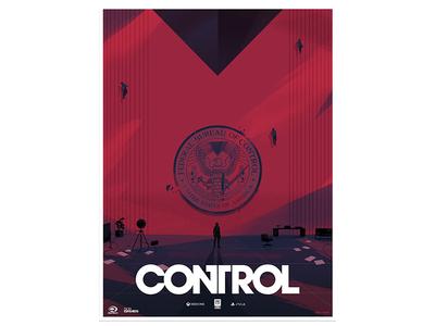 Control bureau office video game fanart