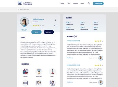 RateTrainer   Profile