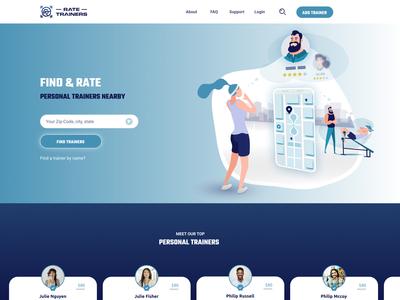 Landing Page  - web