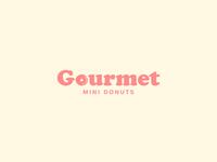 Gourmet mini donuts
