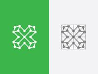 X logomark
