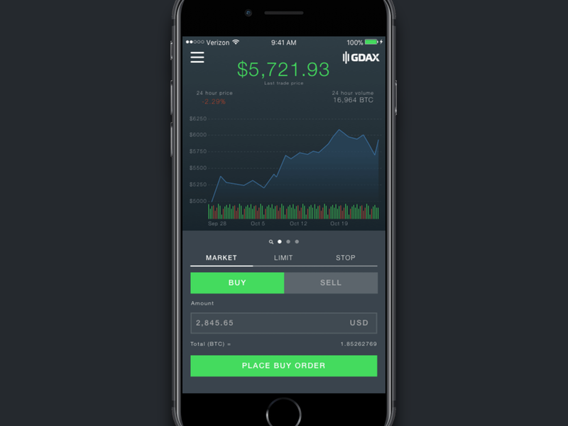 download gdax app
