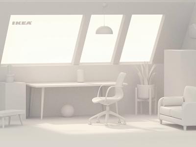 the room light 3d tag ikea