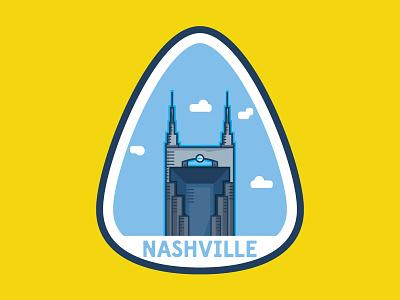 Nashville guitar pick nashville batman building