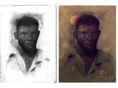 Vietnam Soldier Portrait