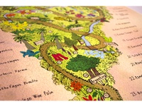 Botanical South America Detail