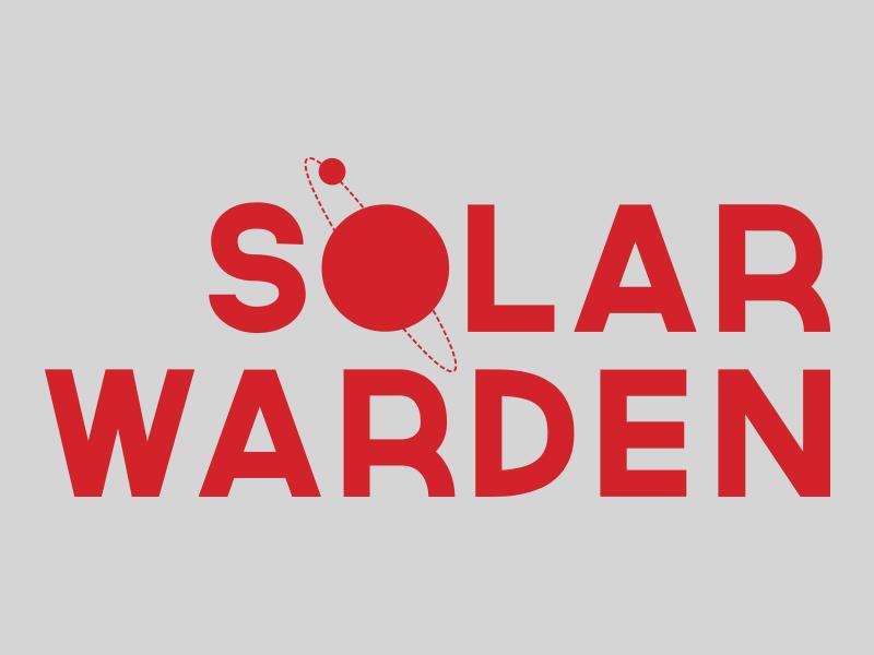Solar Warden Mark 1 branding art direction cover design space challenge spaced book print space logo typography design