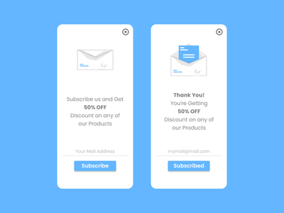 Subscribe app design newsletter subscribe mail ux ui design daily ui ui