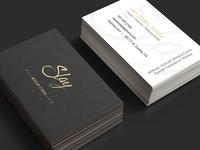 Slay - Gold Foil - Business Cards