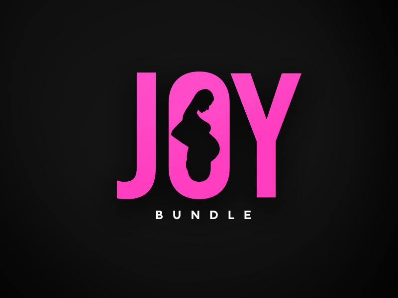 Joy Bundle logo health supplements pregnancy package design branding logo