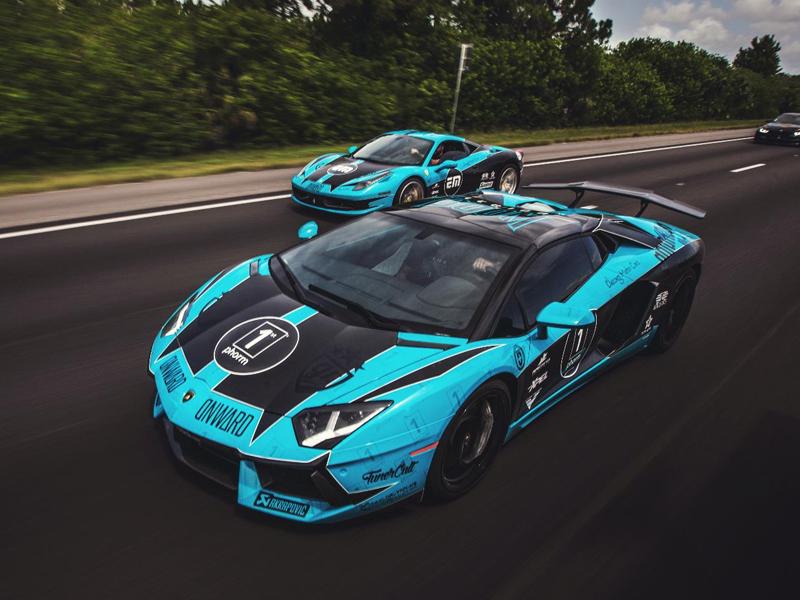 GR7 Lamborghini & Ferrari wraps design ferrari lamborghini vinyl wrap car wrap