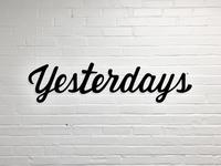 Yesterdays: Logo rebound