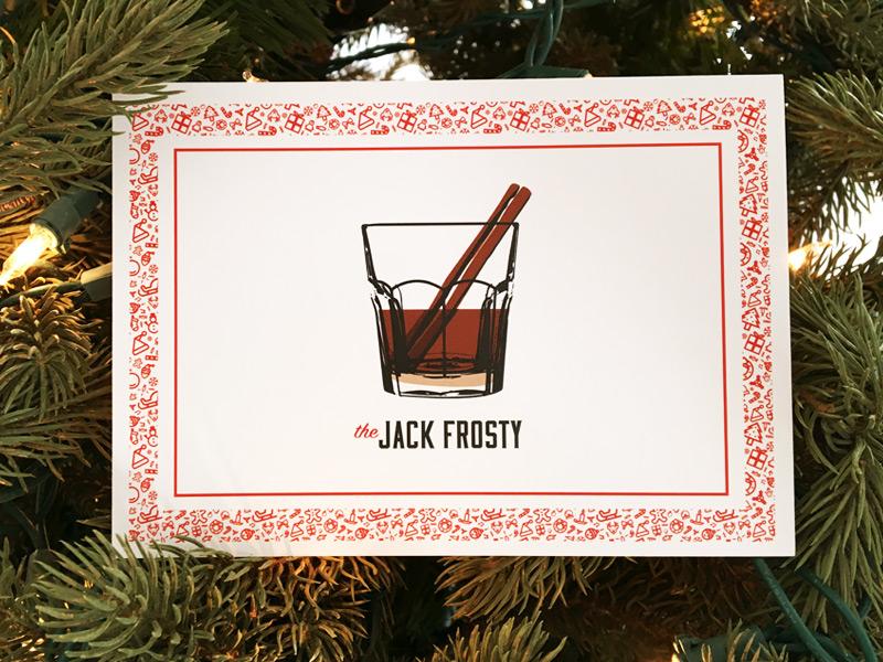 Holiday (recipe) Card illustration print card holiday hannukah christmas