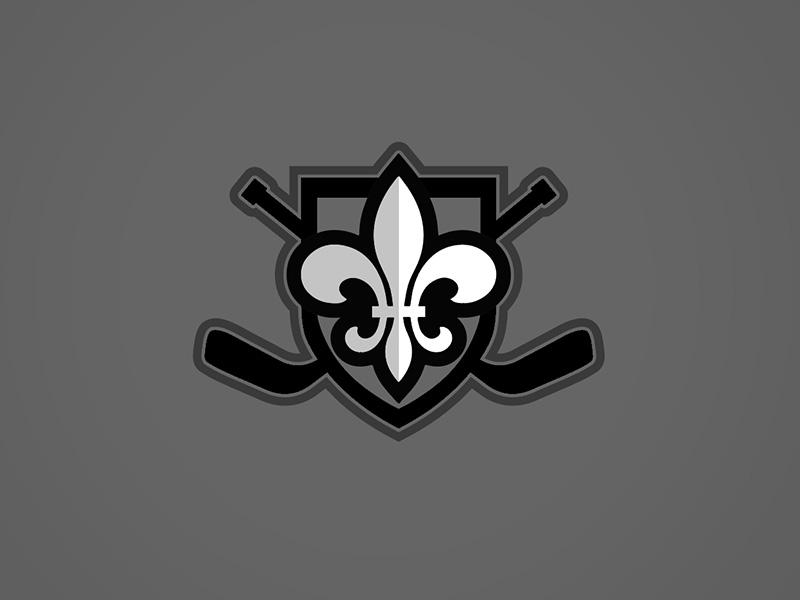Man Advantage logo option 2 hockey fleur de lis pro bono nonprofit logo