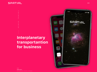 Spatial - Space Travel for Business