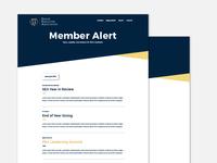 Member Alert Email