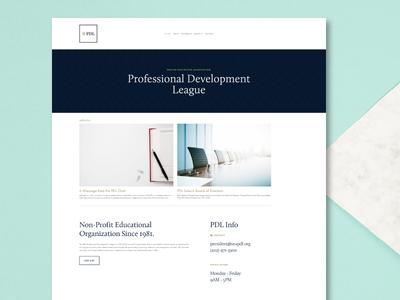 Website for Senior Executives Association web design squarespace nonprofit website