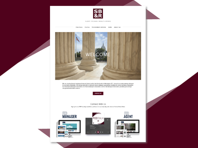 Law Firm Website marketing law firm legal law ux design web design website