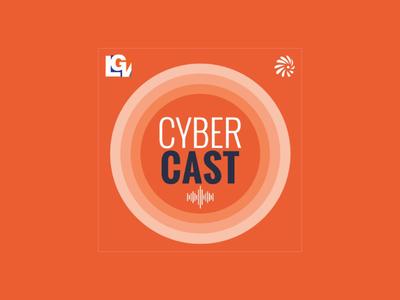 Cybercast Podcast Logo radio orange government cyber podcast