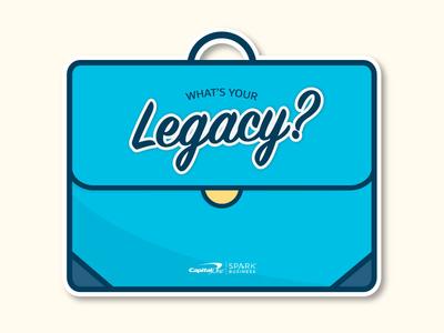 Legacy Die Cut Sticker Pt. 2 sticker mule sticker design die cut laptop sticker sticker