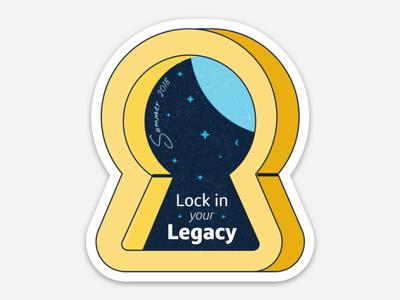 Legacy Sticker Pt. 3 branding diecut sticker mule sticker design sticker