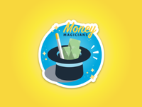 Money Magicians Sticker