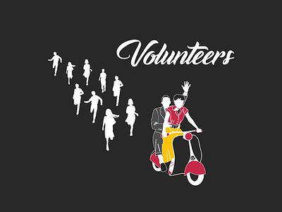 WordCamp WordPress - Rome 2017 - Call for Volunteers romanholidays wordpress illustrations
