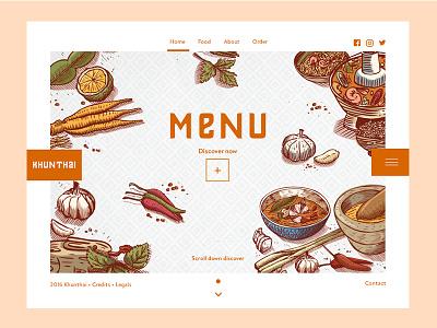 Kunthai Restaurant web thai restaurant