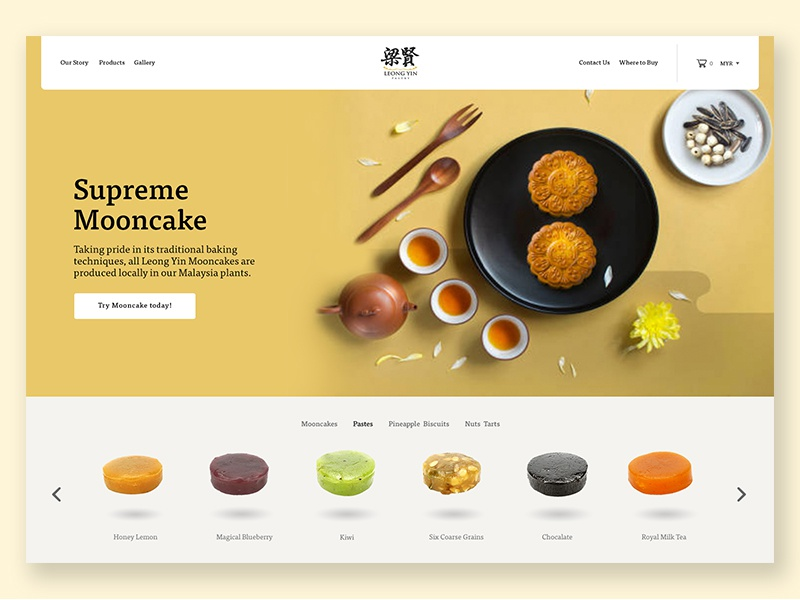 Leong Yin Pastry Website asian biscuit pastry mooncake
