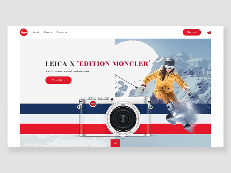 Leica X ' Edition Monclear' camera leica
